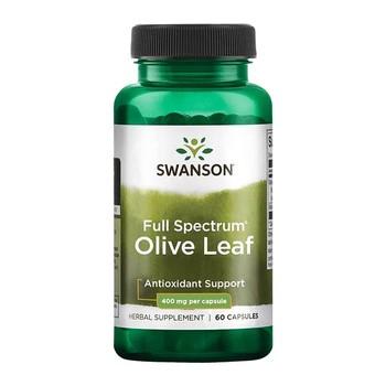 Swanson Full Spectrum Olive Leaf, kapsułki, 60 szt.