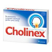 Cholinex, 150 mg, pastylki do ssania, 16 szt.