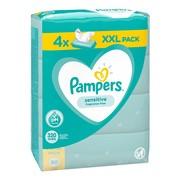 Pampers Sensitive, chusteczki nawilżane dla niemowląt, 4 x 80 szt.