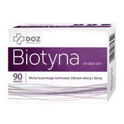 DOZ PRODUCT Biotyna, tabletki powlekane, 90 szt.
