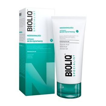 Bioliq Specialist Niedoskonałości, peelingujący żel do mycia twarzy, 125 ml