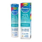 Plusssz 100% Multiwitamina+Magnez, tabletki musujące, 20 szt.