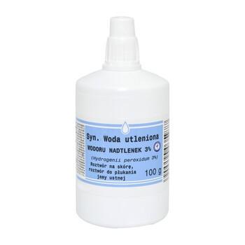 Woda utleniona, 3%, 100 g (L.G. Olsztyn)