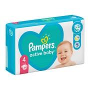 Pampers Active Baby 4 (9−14 kg), pieluszki jednorazowe, 49 szt.