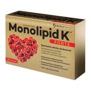 Monolipid K Forte, kapsułki roślinne wegańskie, 30 szt.
