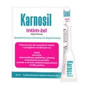 Karnosil Intim-żel, żel dopochwowy, 5 ml, 5 aplikatorów
