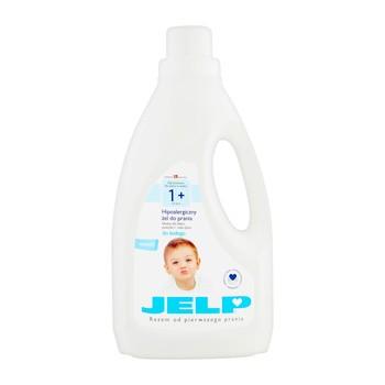 JELP 1+ Żel do prania białego, 1,5 l