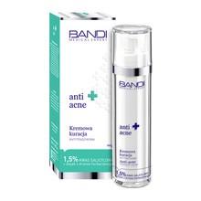 Bandi Medical Expert Anti-Acne, kremowa kuracja antytrądzikowa 1,5% kwas salicylowy + olejek z drzewa herbacianego 50 ml