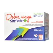 Dobra Waga + Cholester, tabletki, 60 szt.