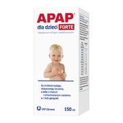 Apap dla dzieci forte, 40 mg/ml, zawiesina doustna, 150 ml