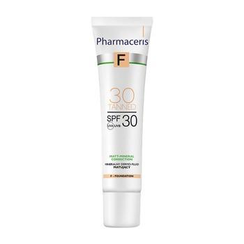 Pharmaceris F, mineralny dermo-fluid matujący SPF 30, 30 Tanned, 30 ml