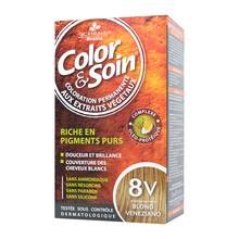 Color&Soin, farba do włosów, blond wenecjański (8V), 135 ml