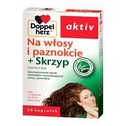 Doppelherz aktiv Na włosy i paznokcie + skrzyp, kapsułki, 30 szt.
