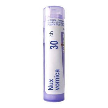 Boiron Nux vomica, 30 CH, granulki, 4 g