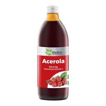 Acerola, sok, 500 ml (EkaMedica)