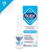 Acatar Control, 0,5 mg/ml (0,05%), aerozol  do nosa, 15 ml