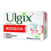 Ulgix Wzdęcia, 80 mg, kapsułki miękkie, 100 szt.