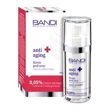 Bandi Medical Expert Anti-Aging, krem pod oczy przeciw zmarszczkom, 0,05% czysty retinol + witamina C, 30 ml