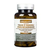 Singularis Tran z sardeli peruwiańskich 1000 mg, kapsułki, 120 szt.
