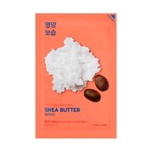 Holika Holika Pure Essence Mask Seet - Shea Butter, maseczka na bawełnianej płachcie z masłem shea, 20 ml