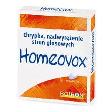 Boiron Homeovox, tabletki, 60 szt.
