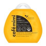 Cafe mimi, szampon-odżywka do wszystkich rodzajów włosów, 100 ml