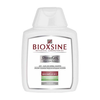 Bioxsine DermaGen, szampon przeciwko wypadaniu włosów do włosów przetłuszczających się, 300 ml