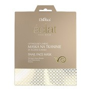 L`Biotica Eclat Face, liftingujący zabieg, maska na tkaninie ze śluzem ślimaka, 23 ml