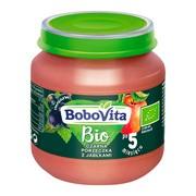 BoboVita Bio, deserek czarna porzeczka z jabłkiem, 5 m+, 125 g