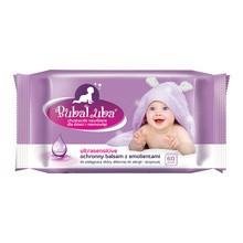 Buba Luba, Nawilżane chusteczki dla dzieci, Ultrasensitive, 60szt