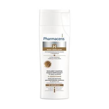 Pharmaceris H Sensitonin, micelarny szampon kojąco-nawilżający do skóry wrażliwej, 250 ml