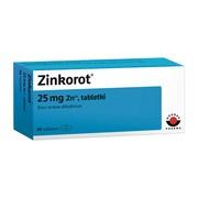 Zinkorot, 25 mg Zn2+, tabletki, 50 szt.