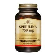 Solgar Spirulina 750 mg, kapsułki, 80 szt.