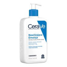 CeraVe, nawilżająca emulsja dla skóry suchej i bardzo suchej, 473 ml