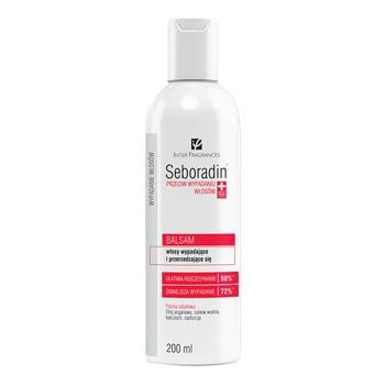 Seboradin Przeciw wypadaniu włosów, balsam do włosów, 200 ml