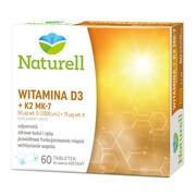 Naturell Witamina D3 + K2 MK-7, tabletki do ssania, 60 szt.