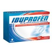 Ibuprofen Aflofarm, 400 mg, tabletki drażowane, 20 szt.