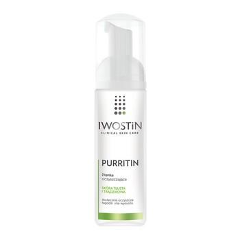 Iwostin Purritin, pianka oczyszczająca, skóra tłusta i trądzikowa, 165 ml