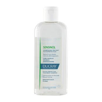 Ducray Sensinol, szampon, ochrona fizjologiczna, wrażliwa skóra głowy, 200 ml