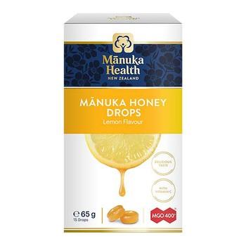 Cukierki z miodem Manuka MGO 400+ i witamina C smak cytrynowy, 65 g