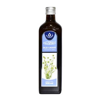 LinumVital, olej lniany tłoczony na zimno, 500 ml