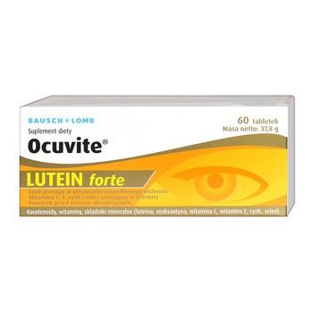Ocuvite Lutein Forte, tabl.,60 szt