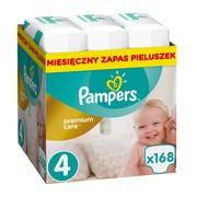Pampers Premium Care, pieluchy nr 4 (8-14 kg), 168 szt.