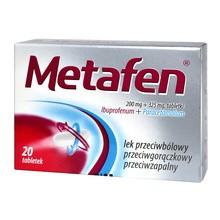 Metafen, tabletki, 20 szt.