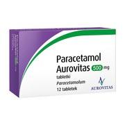 Paracetamol  Aurovitas, 500 mg, tabletki, 12 szt.