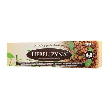 Debelizyna, pasta doustna, 100 g