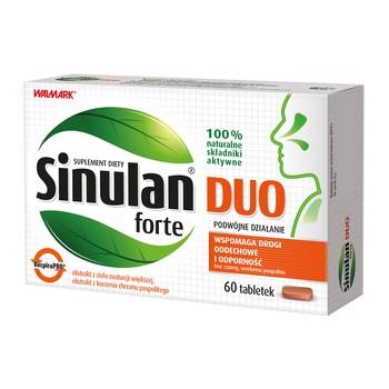 Sinulan Duo Forte, tabletki powlekane, 60 szt.