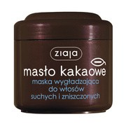 Ziaja Masło Kakaowe, maska wygładzająca do włosów suchych i zniszczonych, 200 ml