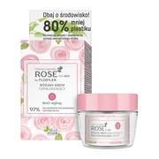 FlosLek, Rose for skin, różany krem odmładzający, na dzień, 50 ml