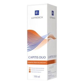 Capitis Duo, szampon przeciwłupieżowy i przeciwgrzybiczy, 110 ml